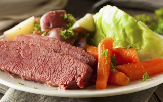 Un-Corned Beef and Cabbage